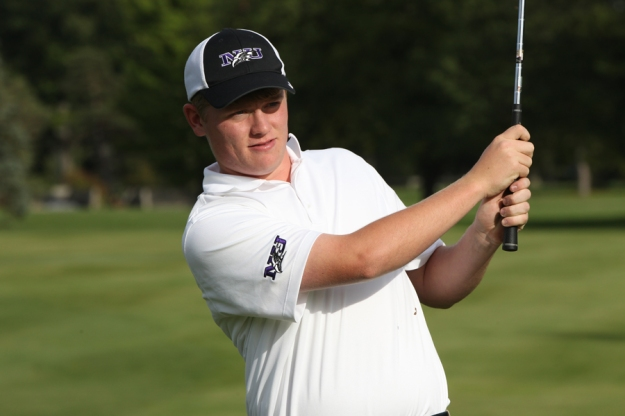 Jackson Lizardo, a graduate of Oakton High School and current sophomore at Niagara University, hopes to qualifiy for the 2013 U.S. Amateur Public Links Championship at Laurel Hill Golf Club.