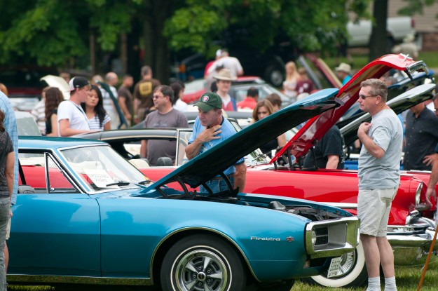 The antique car show at Sully Historic Site has been a Father's Day tradition for 40 years.