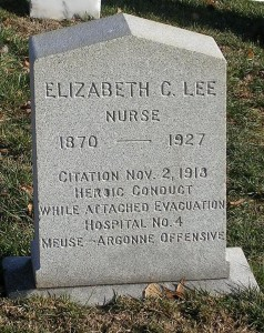 Grave of Elizabeth Collins Lee, Arlington National Cemetery. Photo by Jen Snoots.