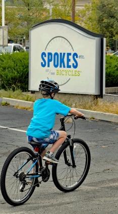 Disc Trail - Spokes and Bike 1