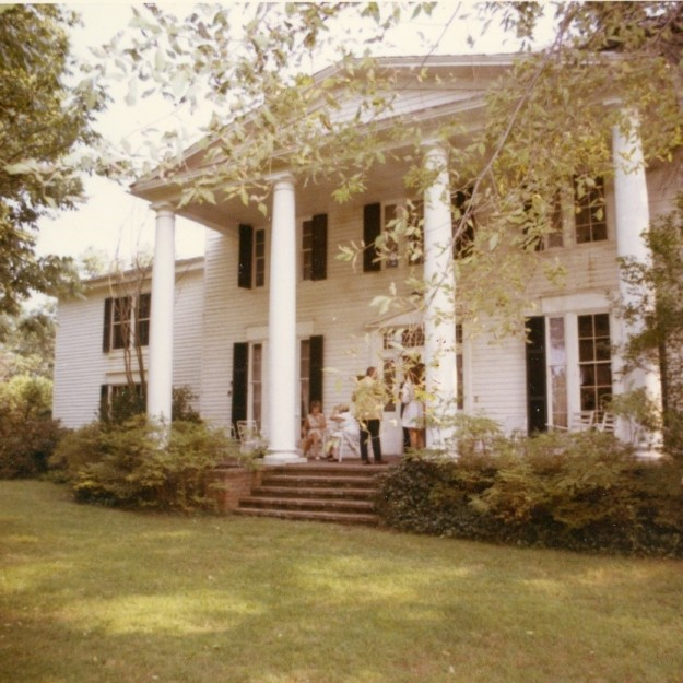 Mount Air Mansion in 1970.