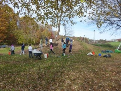 Planting began Nov. 2014
